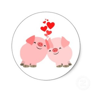 cute_cartoon_pigs_in_love_sticker-p217043760687374245836x_325